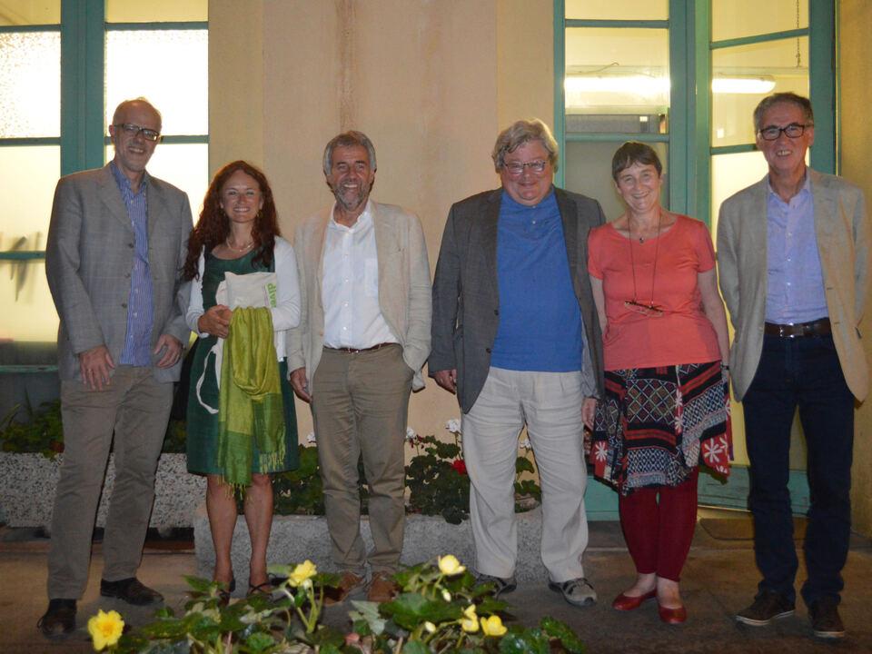 Hans Heiss, Brigitte Foppa, Paul Rösch, Reinhard Bütikofer, Renée Krebs, Anton Ladurner Die Grünen