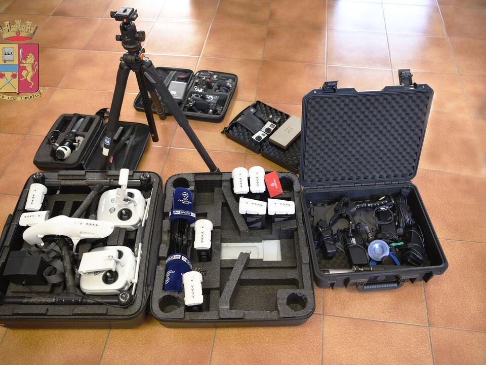 Diebesgut Beute Drohne Technik