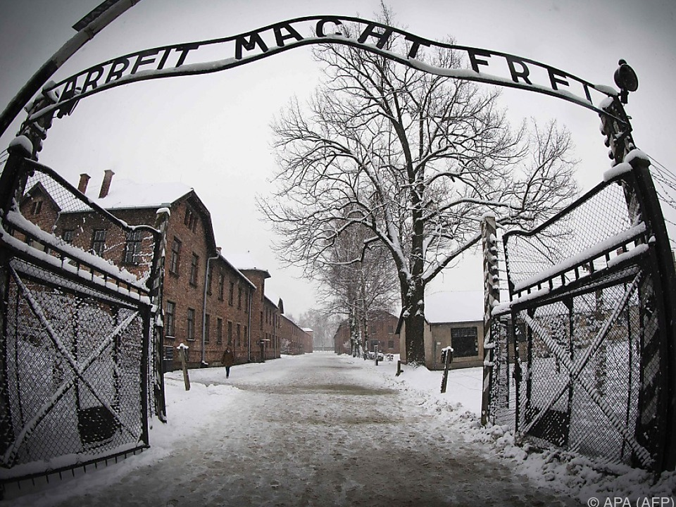 Eingang in das frühere KZ Auschwitz