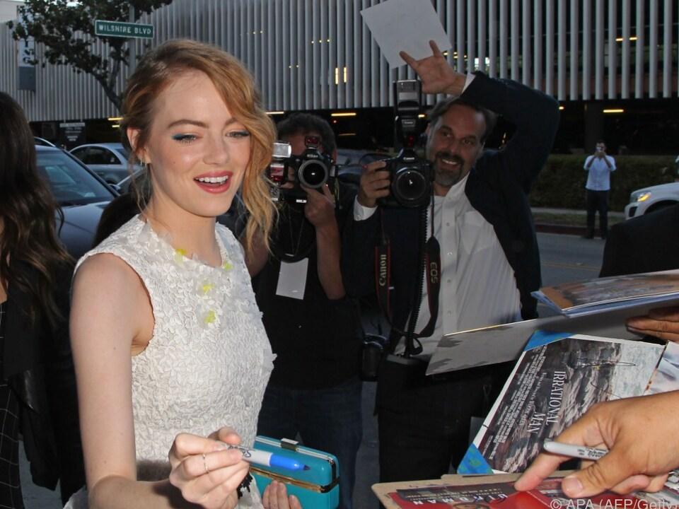 Emma Stone wird wohl wieder viele Autogramme schreiben müssen