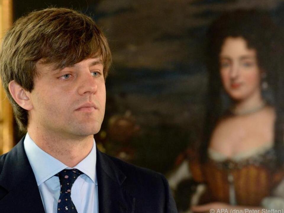 Ernst August Erbprinz von Hannover 2014 auf Schloss Marienburg