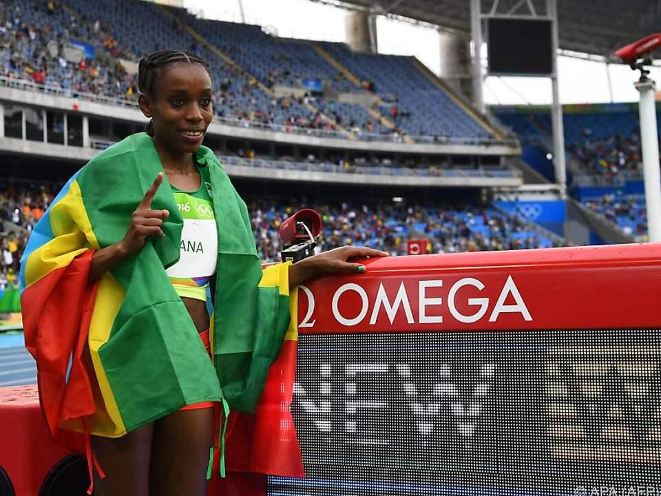 Fantastischer Weltrekord für die Läuferin aus Äthiopien