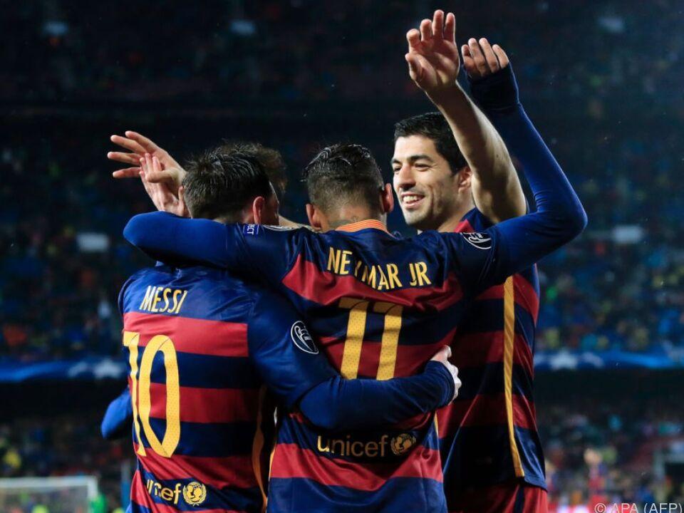 Findet Barcelonas Supersturm in dieser Saison seinen Meister
