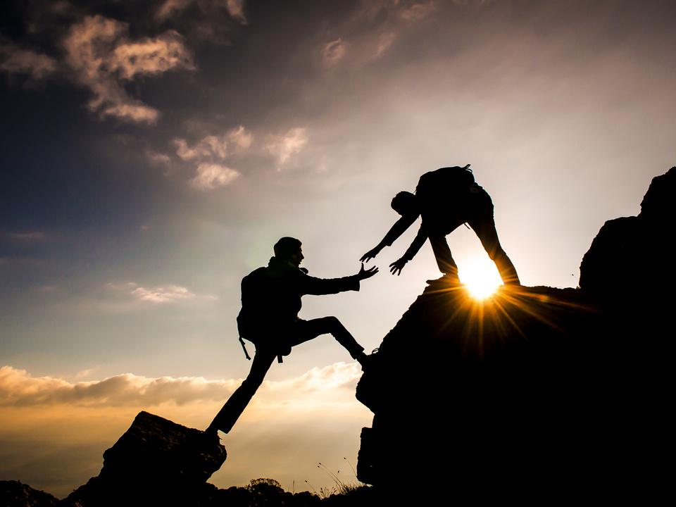 klettern bergsteigen bergnot urlaub rettung