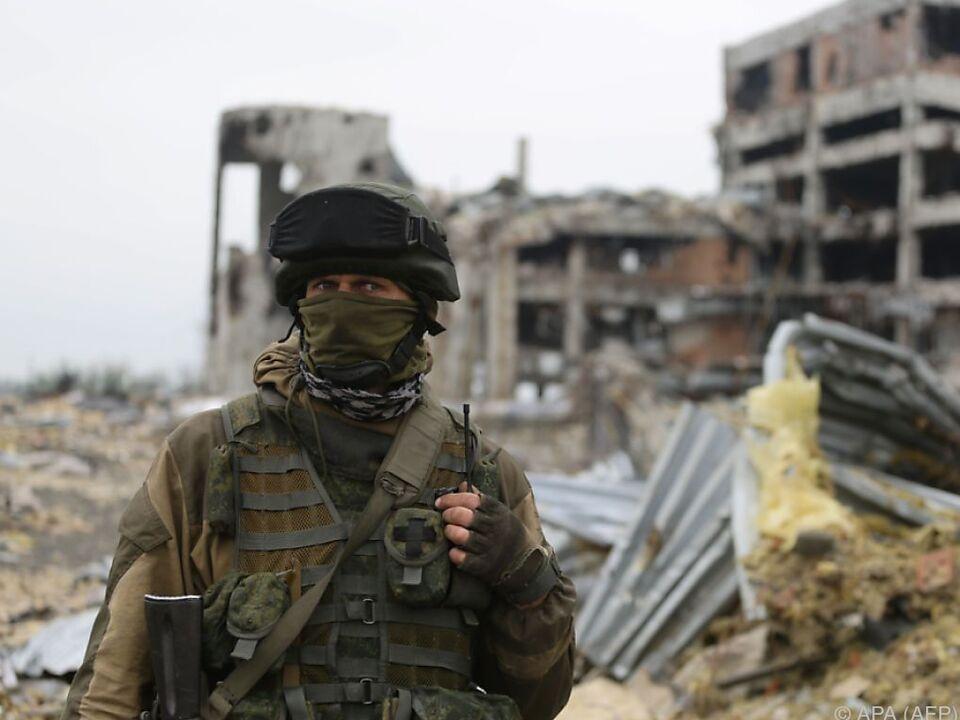 Gefechte in der Ostukraine wieder heftiger