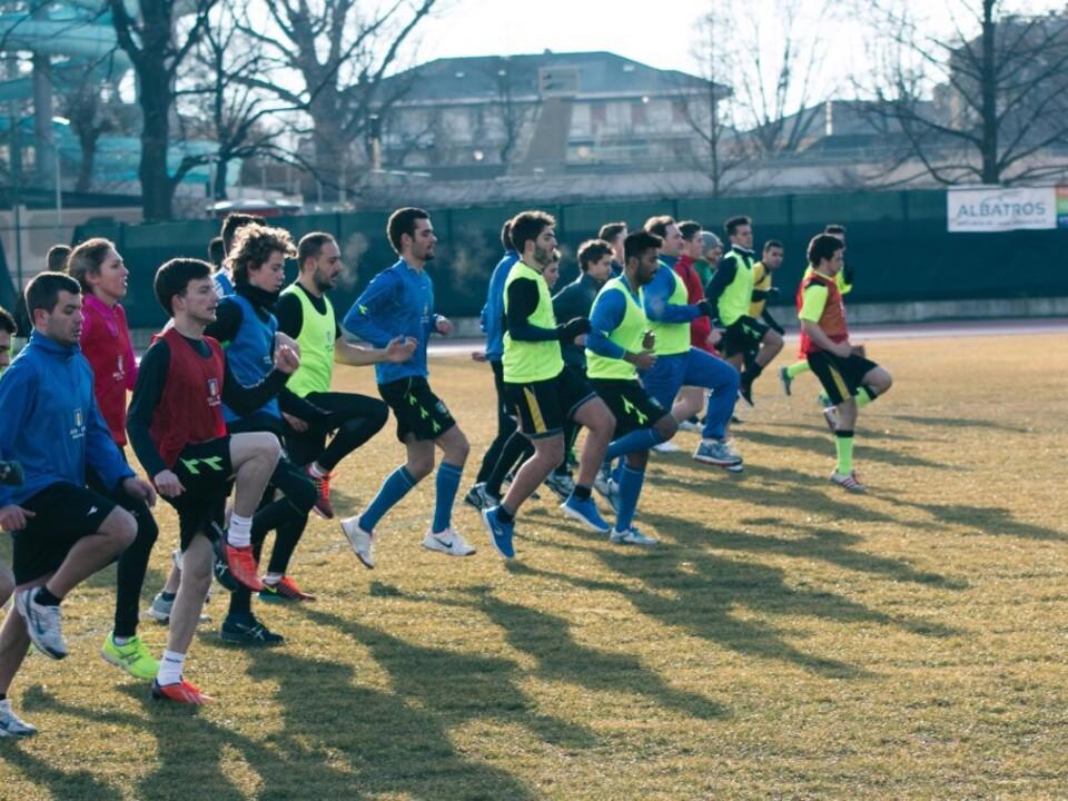 Gemeinsames Training-Schiedsrichtersektion Meran
