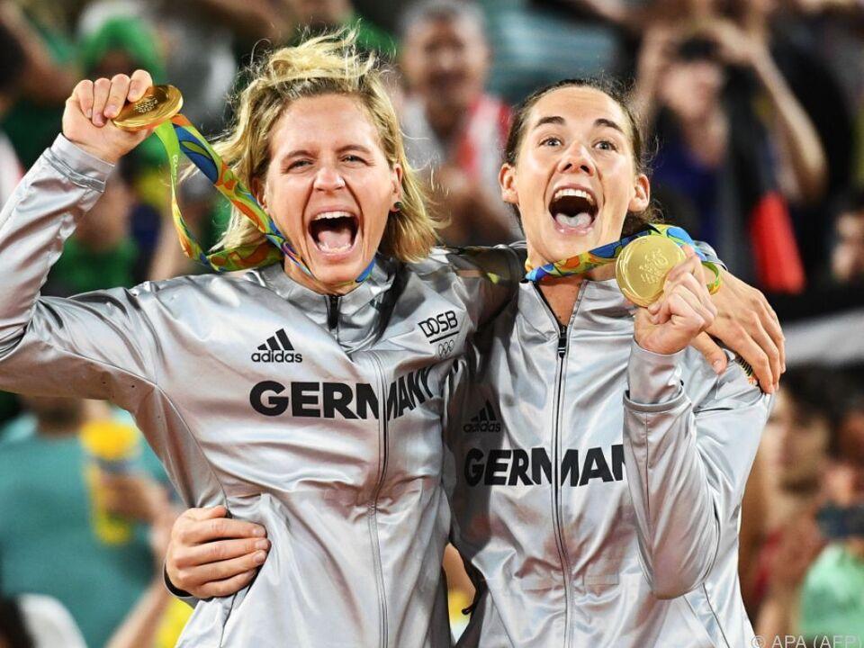 Gold für das deutsche Duo