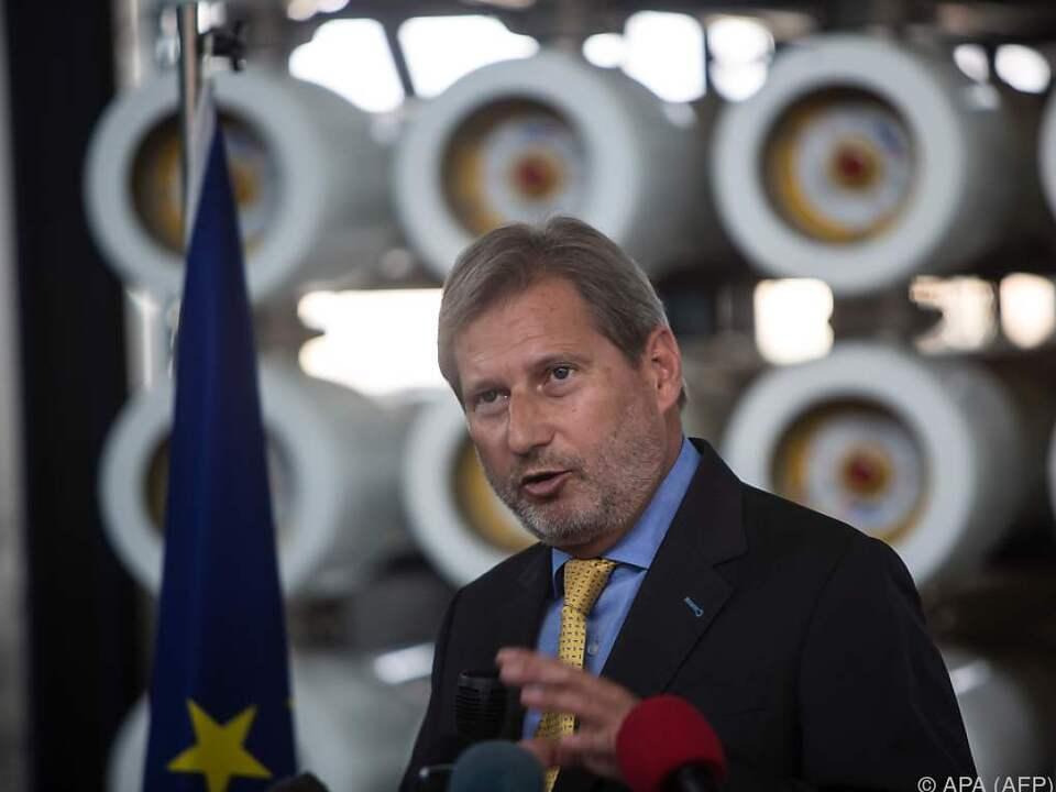 Hahn sieht Flüchtlingsdeal von der Visa-Liberalisierung getrennt