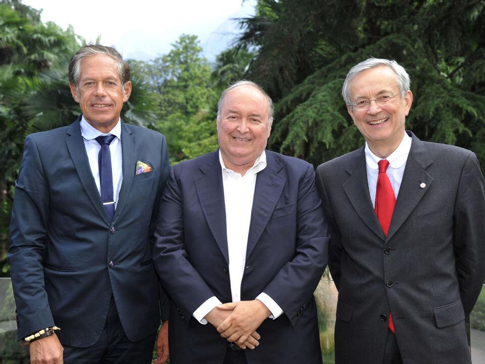 hk-Jürgen Bodenseer, Giovanni Bort, Michl Ebner (c) bernardinatti