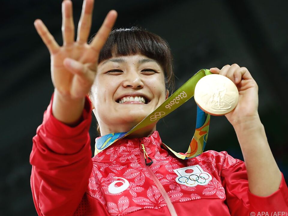 Icho ist die erfolgreichste Athletin ihrer Sportart