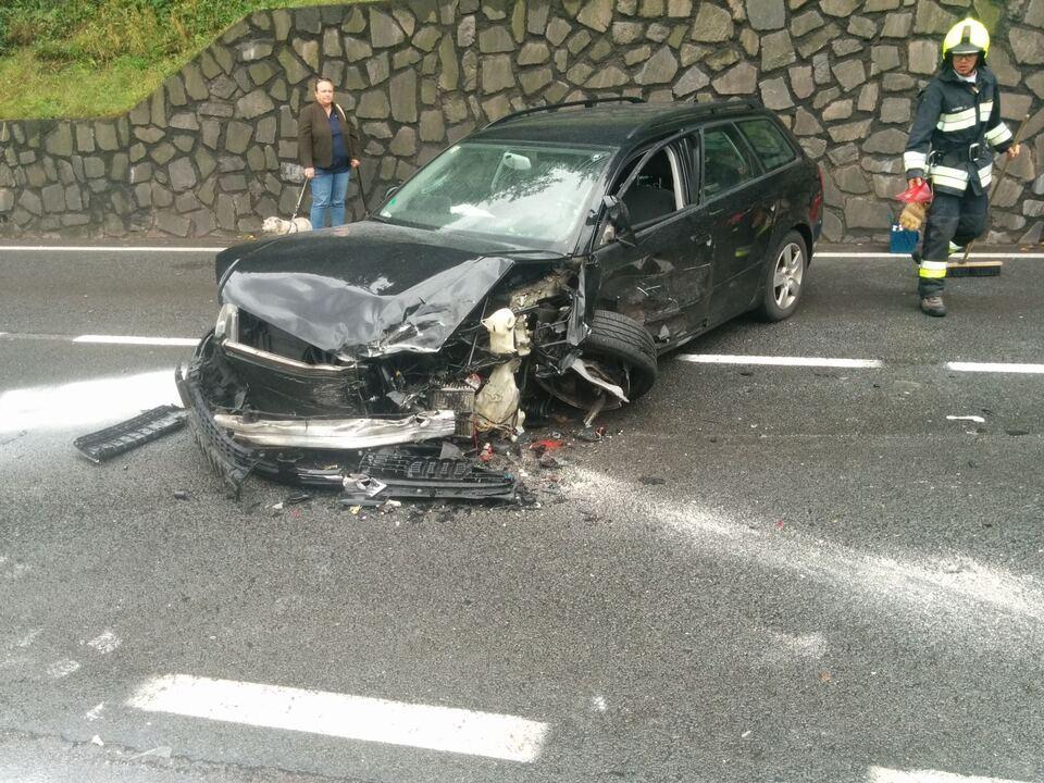 Verkehrsunfall FF Algund