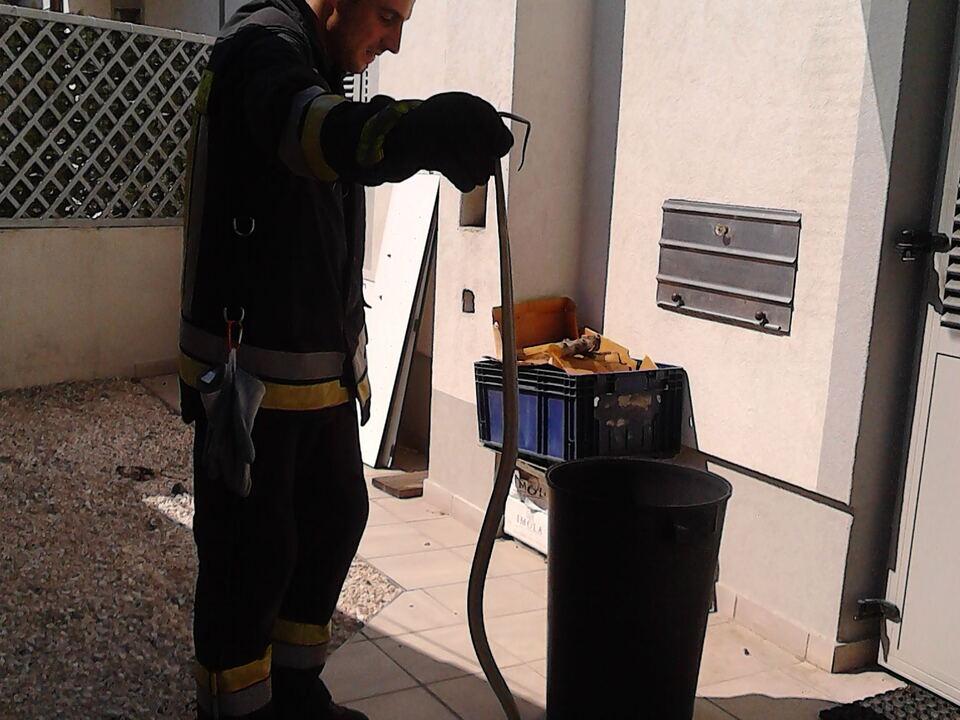 Schlange Feuerwehr St. Jakob/Grutzen
