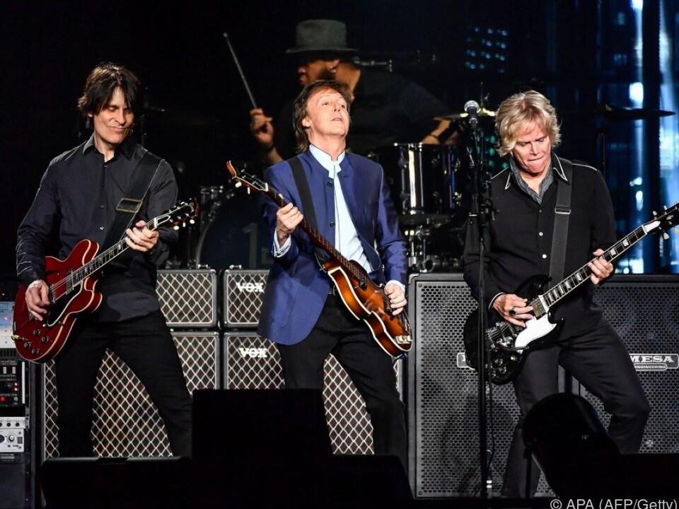 In den vergangenen Jahren spielte McCartney vor allem live