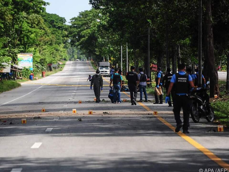 In zwei Provinzen explodierten Sprengsätze