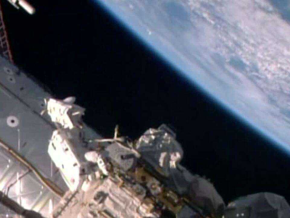 ISS: Vorbereitungen für das Andocken von Weltraum-Taxis