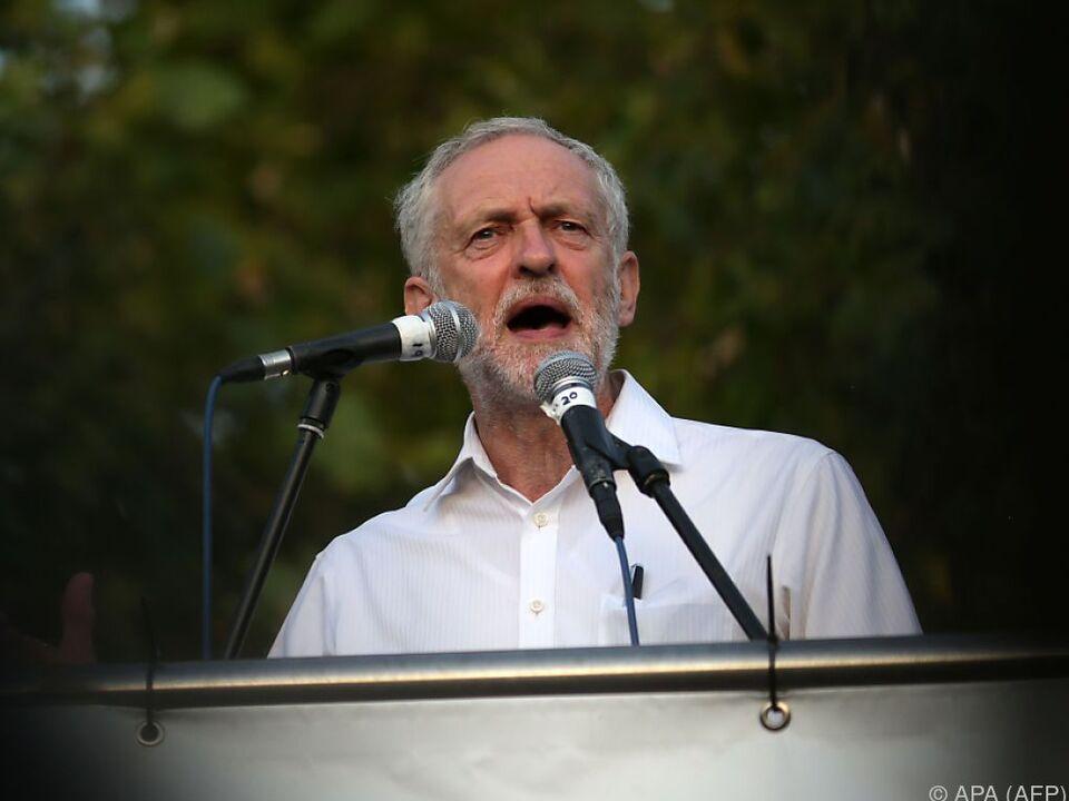 Jeremy Corbyn hat bei Labour nur noch wenige Unterstützer