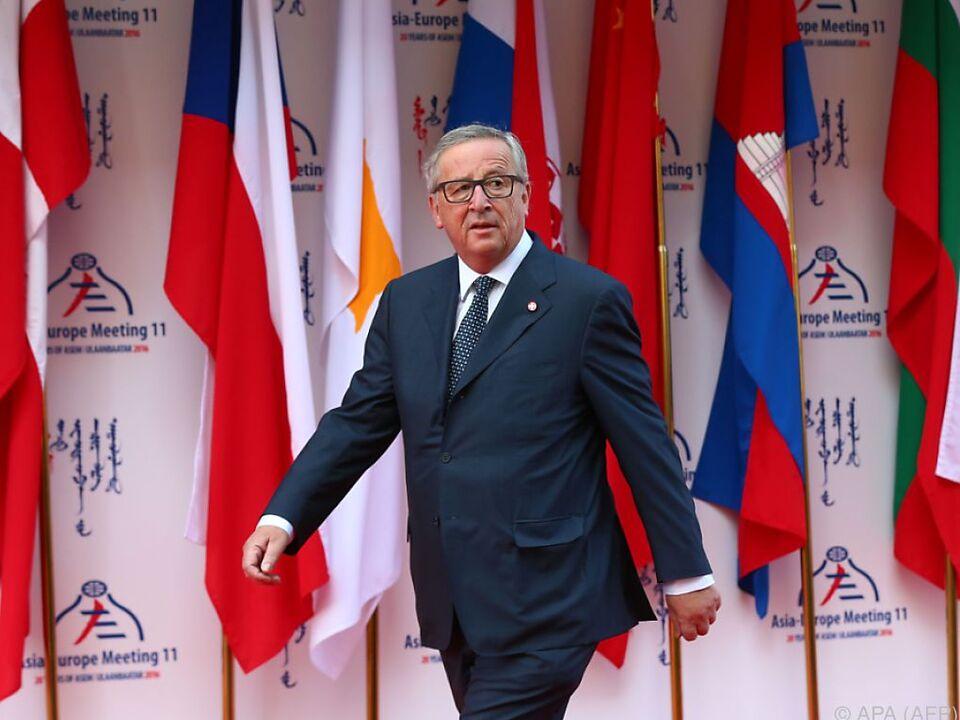 Juncker will Zusammenarbeit mit Türkei