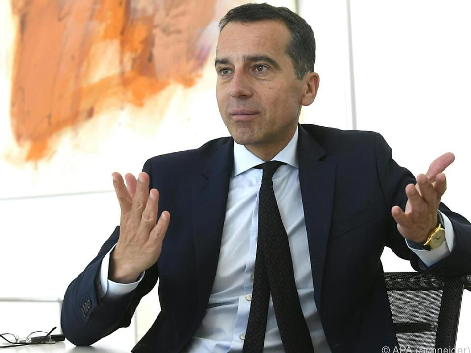 Kanzler will mehr Engagement beim Schutz der EU-Grenzen