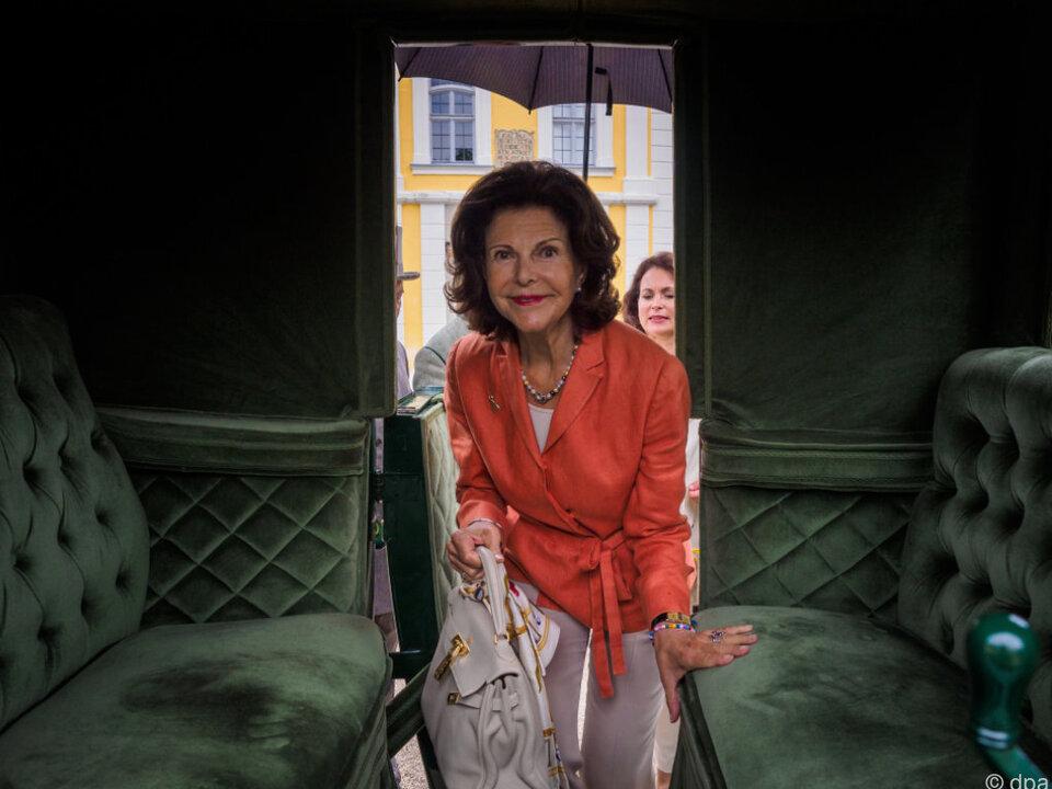 Königin Silvia von Schweden setzt sich für Kinder ein