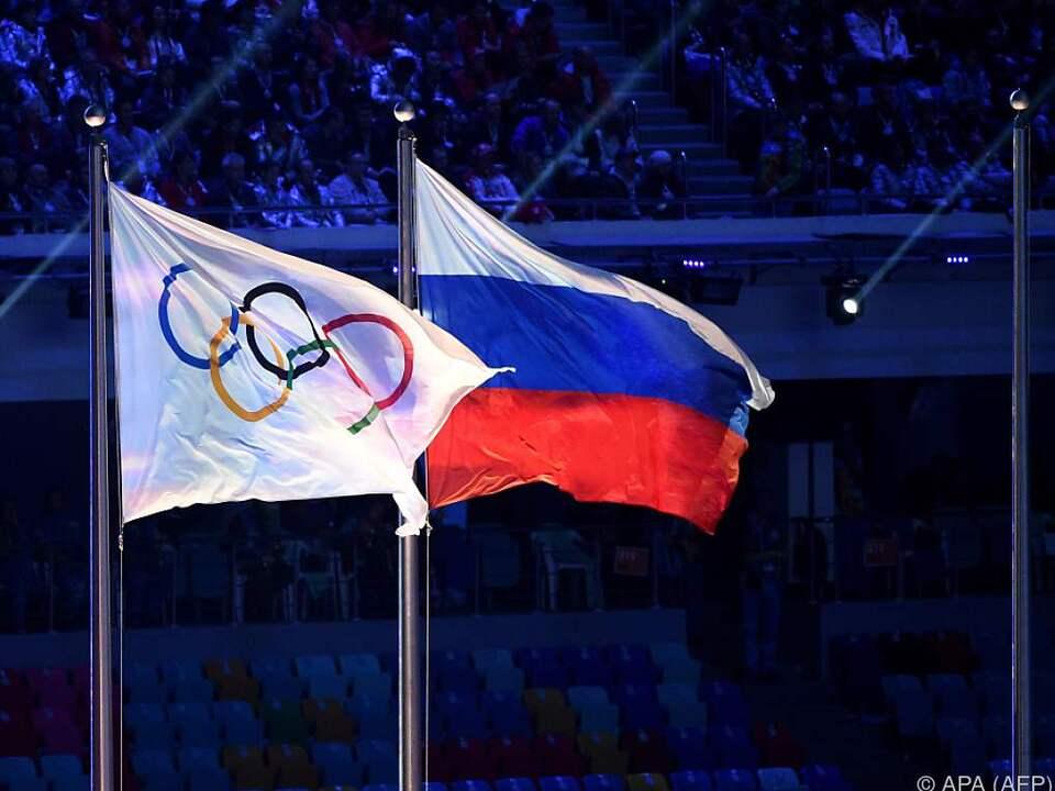 Komplett-Ausschluss der russischen Athleten fix