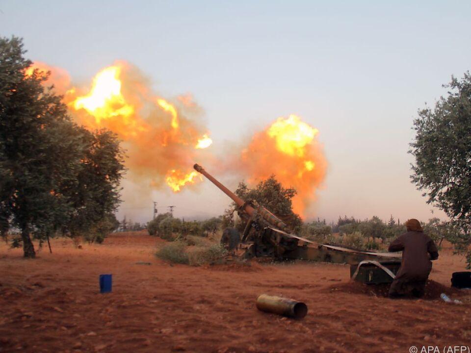krieg anschlag Aleppo weiterhin heftig unkämpft