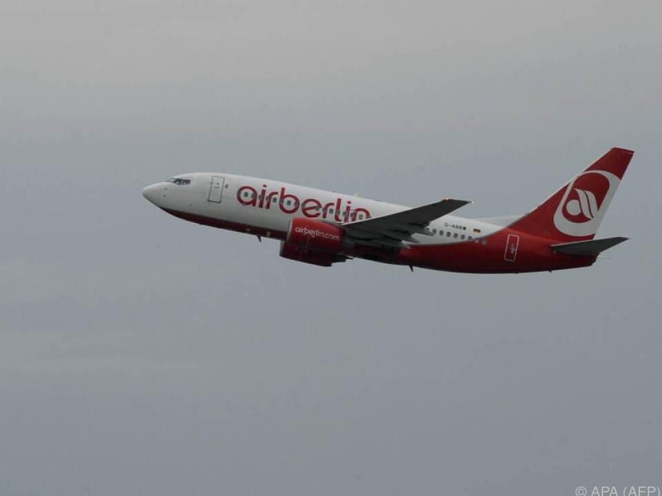 Künftig keine Gratis-Getränke mehr auf Air-Berlin-Flügen in Europa