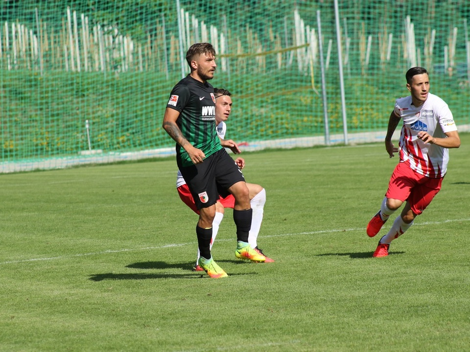 L\'amichevole Augsburg - FCS si è giocata a Malles
