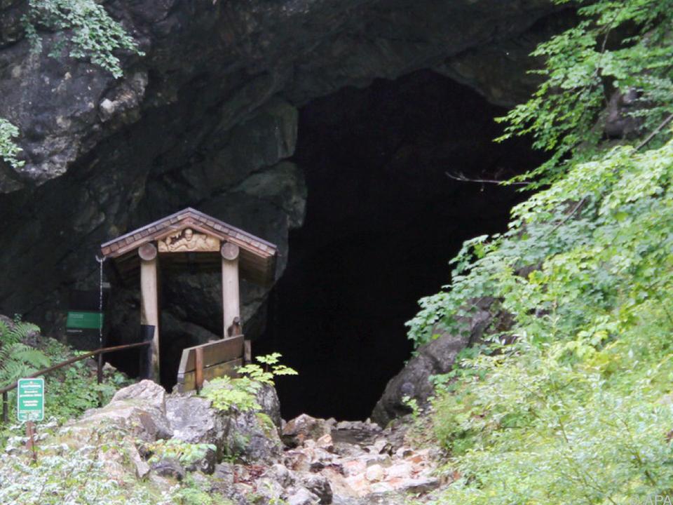 Lamprechtshöhle wurde zur Falle