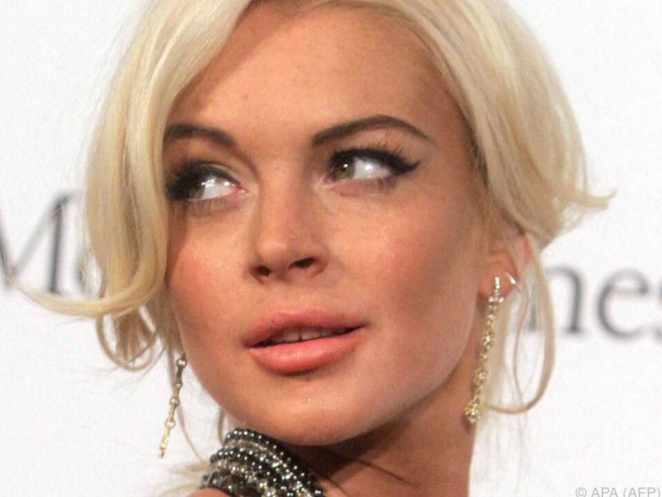 Lindsay Lohan wieder im Gespräch