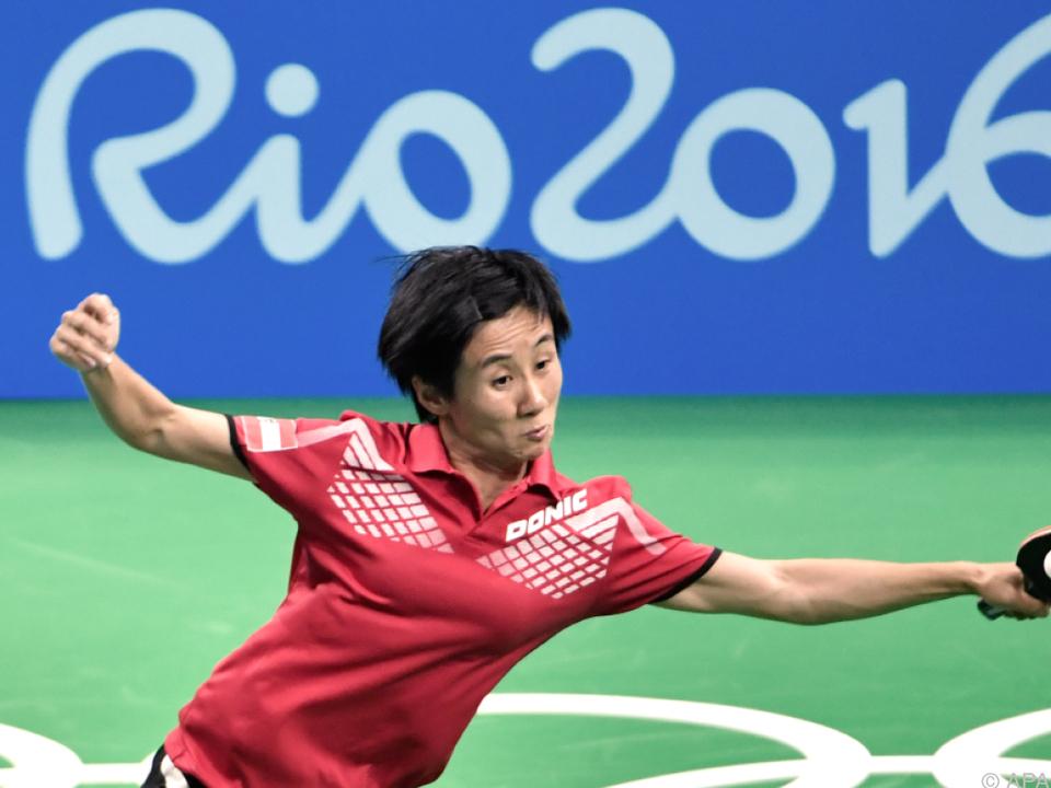 Liu Jia gewann ihre beiden Einzelspiele