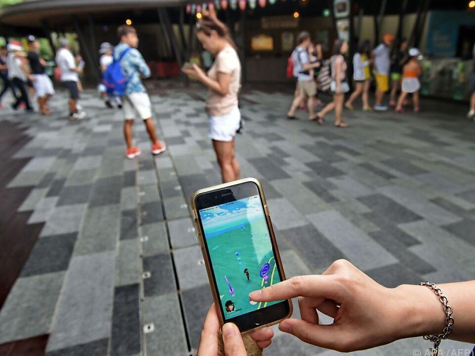 Mancherorts ist die Lokalisierung von Pokemons schon illegal