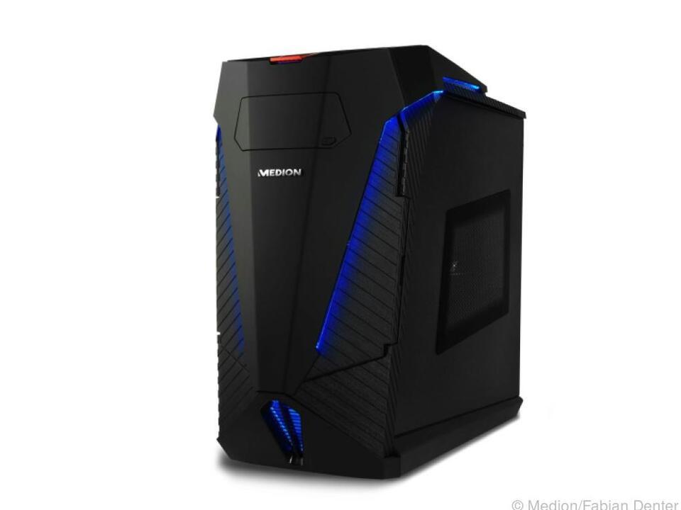 Medions Erazer X 5336 G kommt auf einen Preis von rund 2.800 Euro
