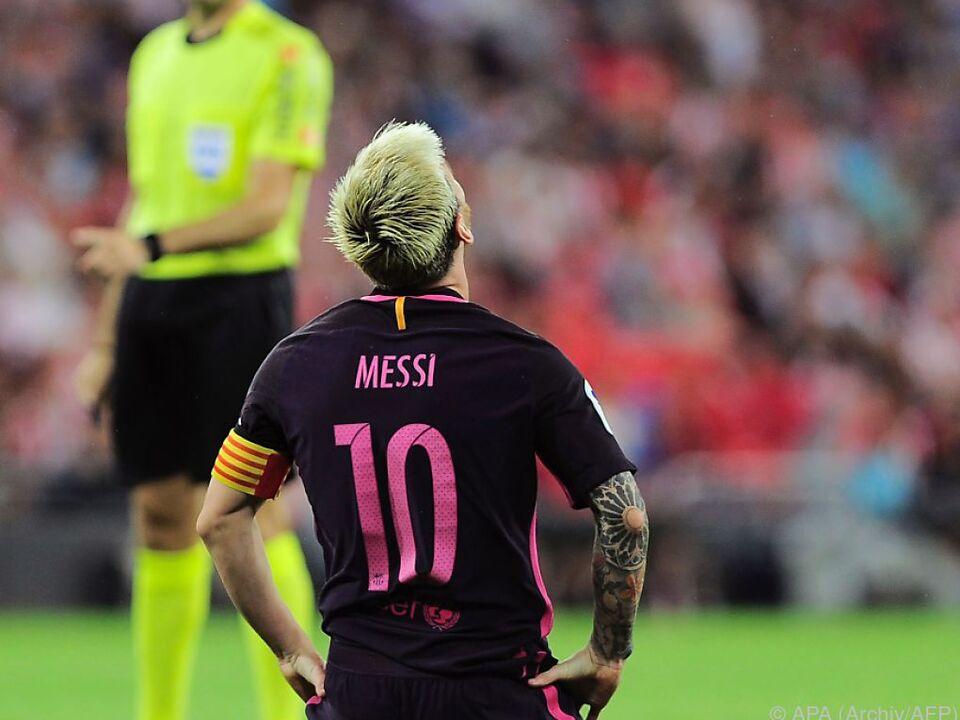 Messi verletzte sich an der linken Achillessehne