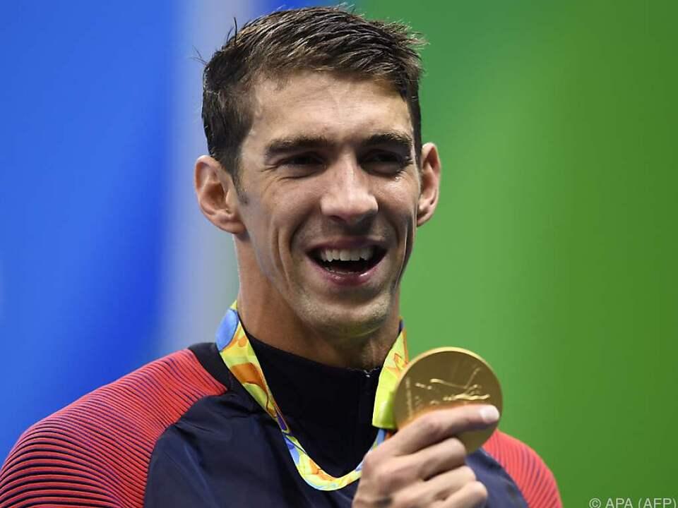 Michael Phelps kehrte standesgemäß auf die Olympia-Bühne zurück
