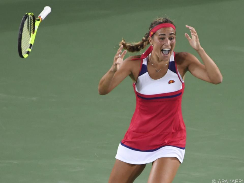 Monica Puig kommt mit der Euphorie des Olympiasiegs zu den US Open