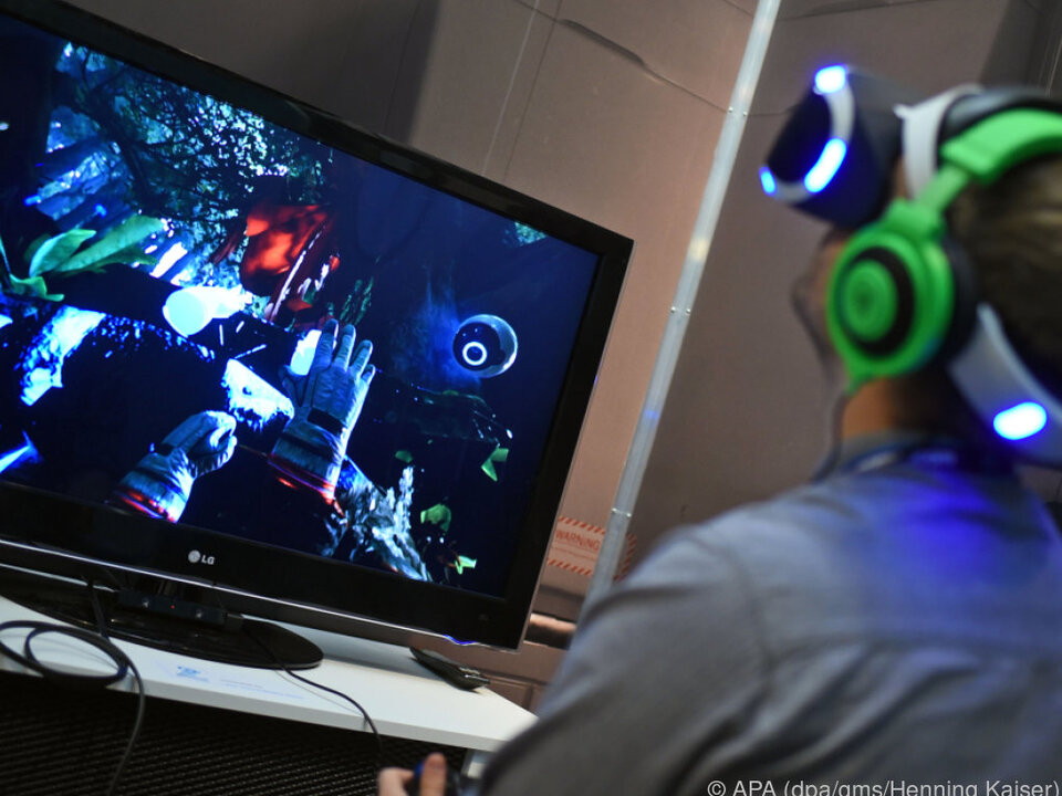 Nach oben schauen, nach oben klettern: VR-Spiele eröffnen neue Welten