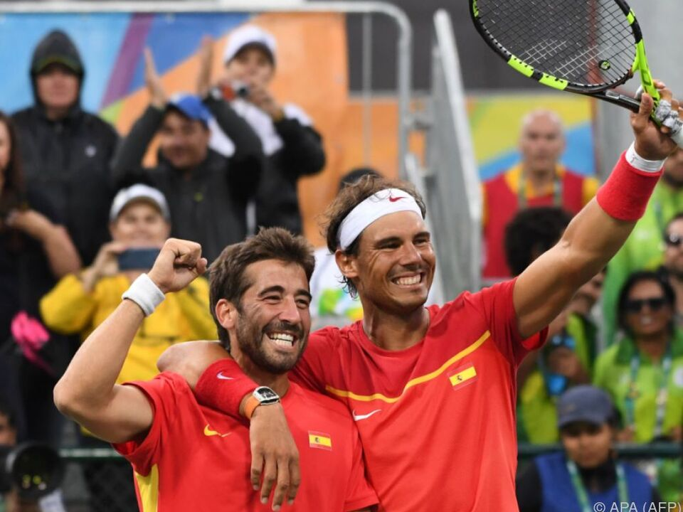 Nadal holte mit Freund Marc Lopez Olympiagold
