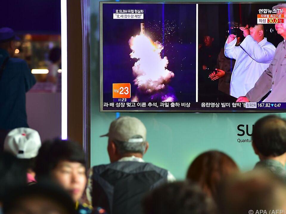 Nordkorea sieht sich nun \