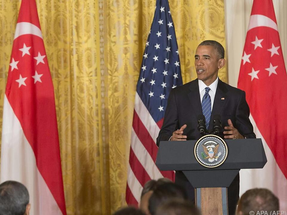 Obama-Statement im Weißen Haus