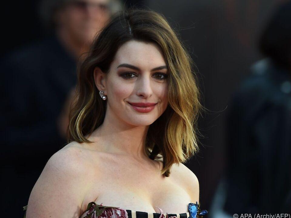 Oscar-Preisträgerin Anne Hathaway verhandelt um eine Rolle