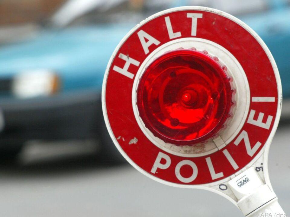 Polizeikontrolle stoppte Betrunkene