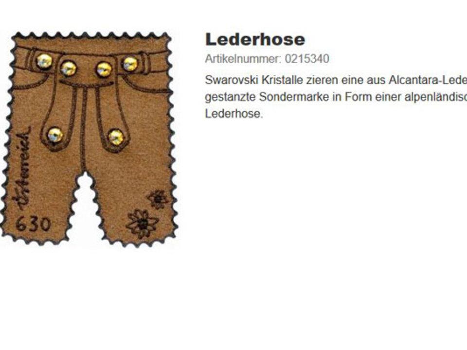 post-at-lederhose-briefmark