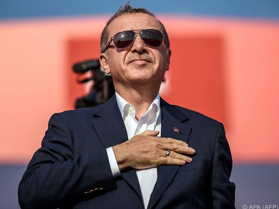 Präsident Erdogan duldet keine Zweifler