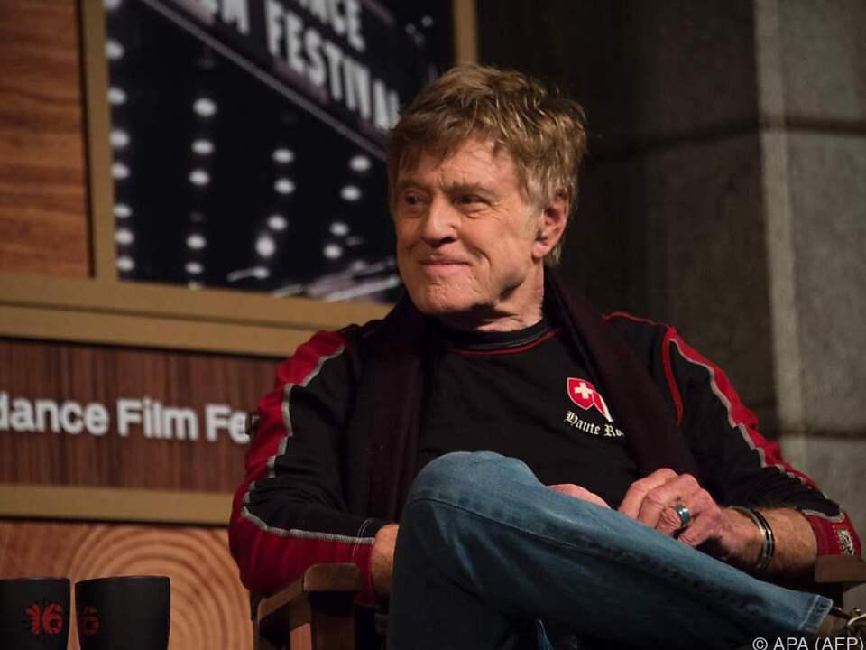 Redford gründete das Sundance Filmfestival