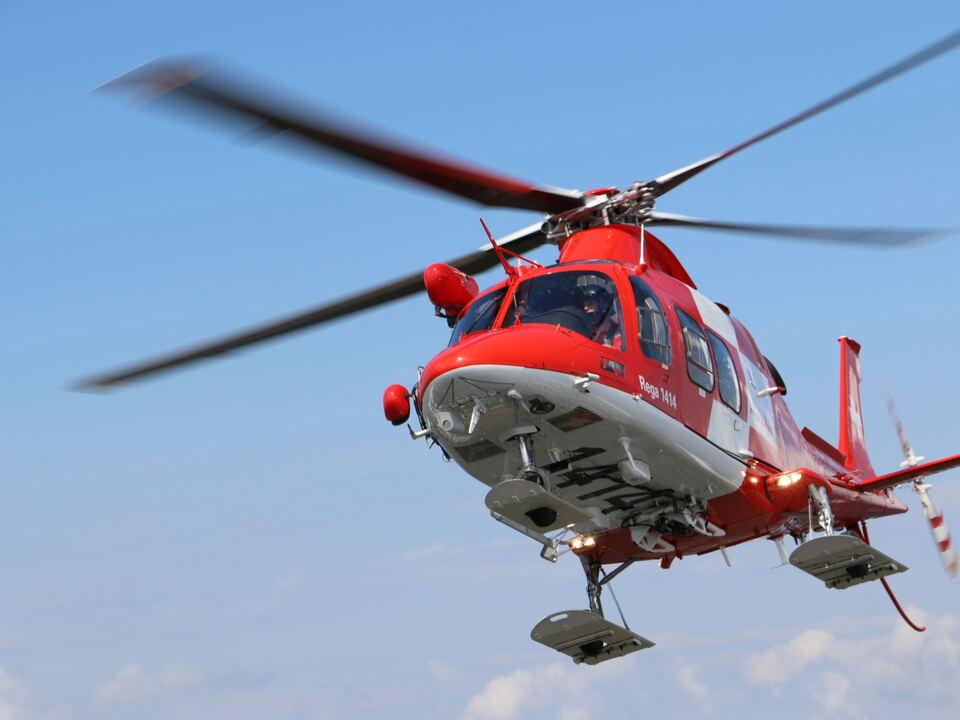 schweiz rettungshubschrauber Rega_Agusta Westland Da Vinci