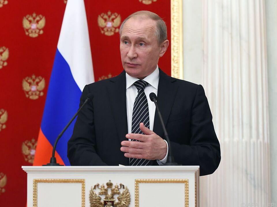 Russland wirft der Ukraine \