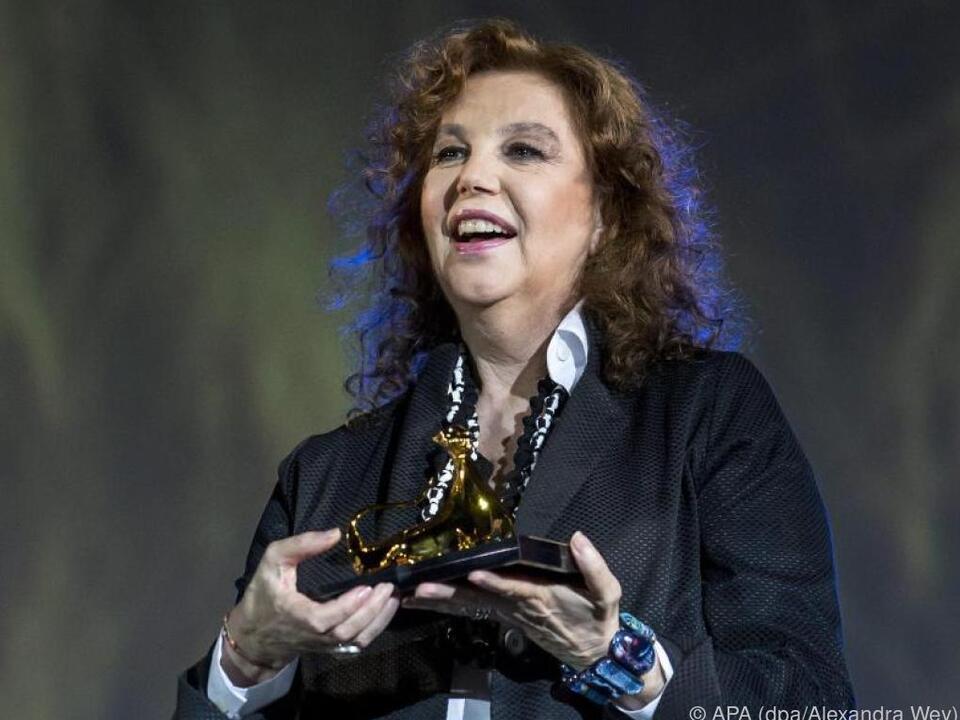 Sandrelli ist für ihr schauspielerisches Lebenswerk geehrt worden