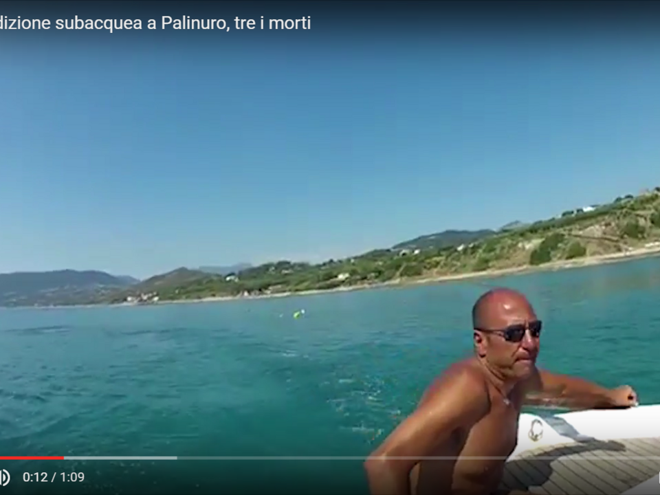 Tragica spedizione subacquea a Palinuro, tre i morti Videoinformazioni Agenzia  Videoinformazioni Agenzia