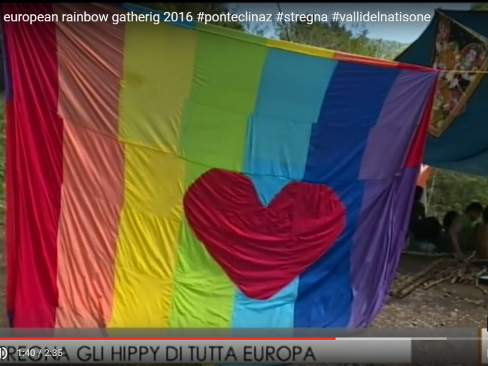 Intergalactic european rainbow gatherig 2016