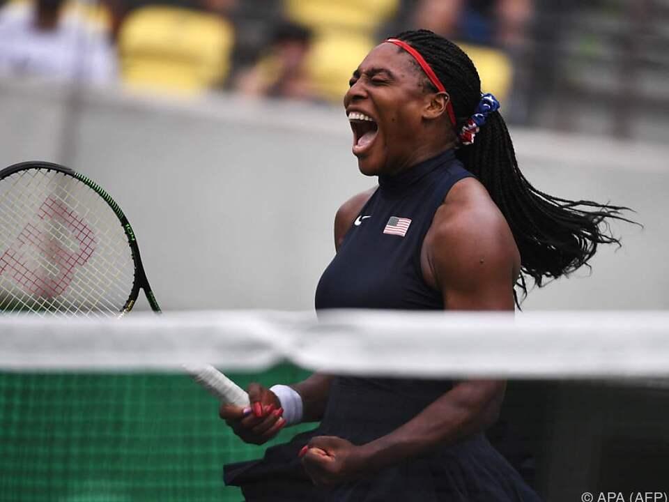 Serena Williams hat immer noch Freude am Gewinnen